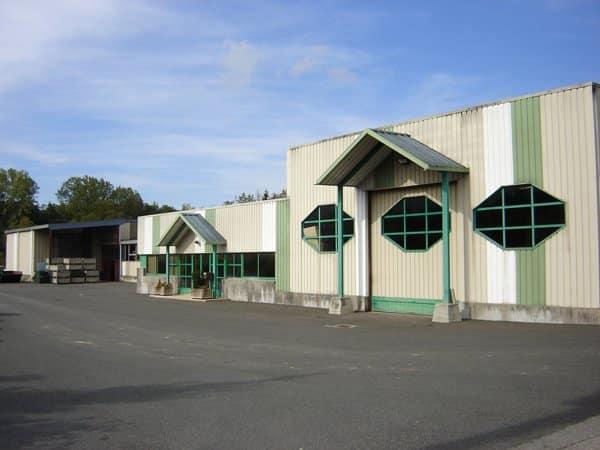 Cette image présente la photo de l'usine située dans la zone industrielle de PERRIGNIER 74550 (France) BRASIER INDUSTRIE
